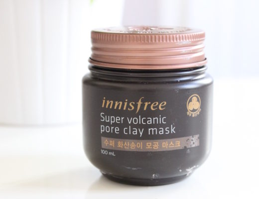 super volcanic pore clay mask innisfree