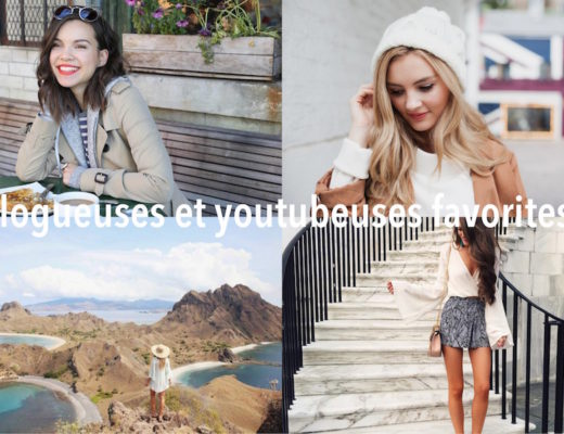 blogueuses et youtubeuses favorites