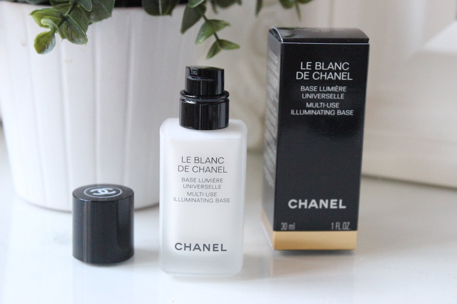 base de teint blanc chanel
