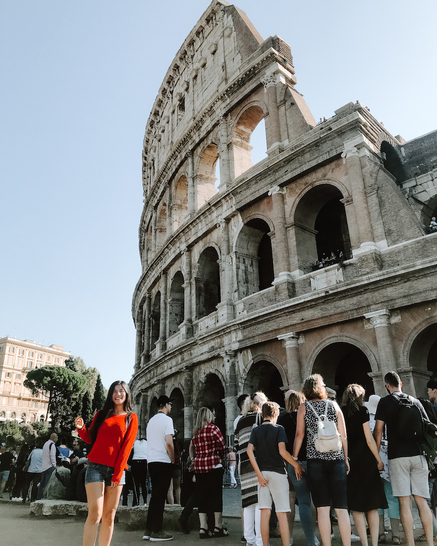city guide rome colisee