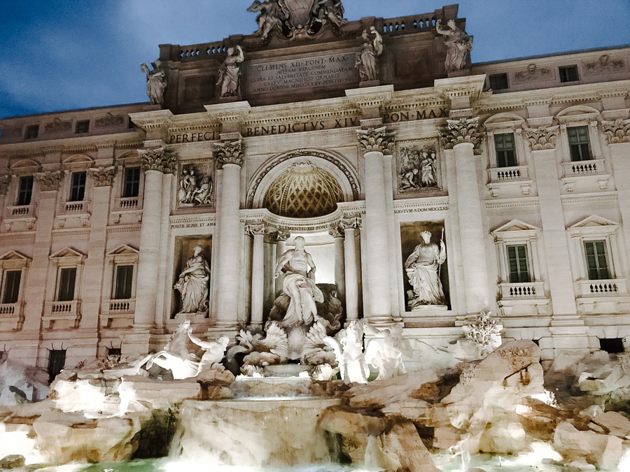 city guide rome fontaine trevi